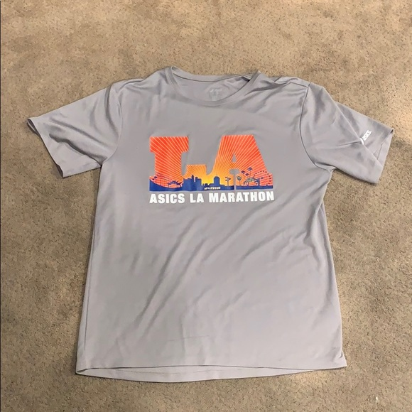 Asics Other - 🌴5/$25 Men's LA Marathon finisher dry wick shirt